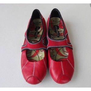 Merrell | Plie Red MaryJane Hiking Slip-On Shoes